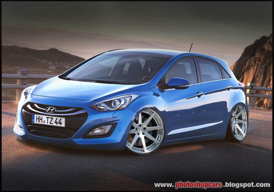 Novo Hyundai i30 Tuning e rebaixado