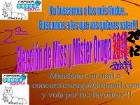 Premio: Elección de Miss y Mister Oruga 2012