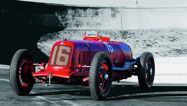 The Maserati Tipo 26B (produced 1927-1930)