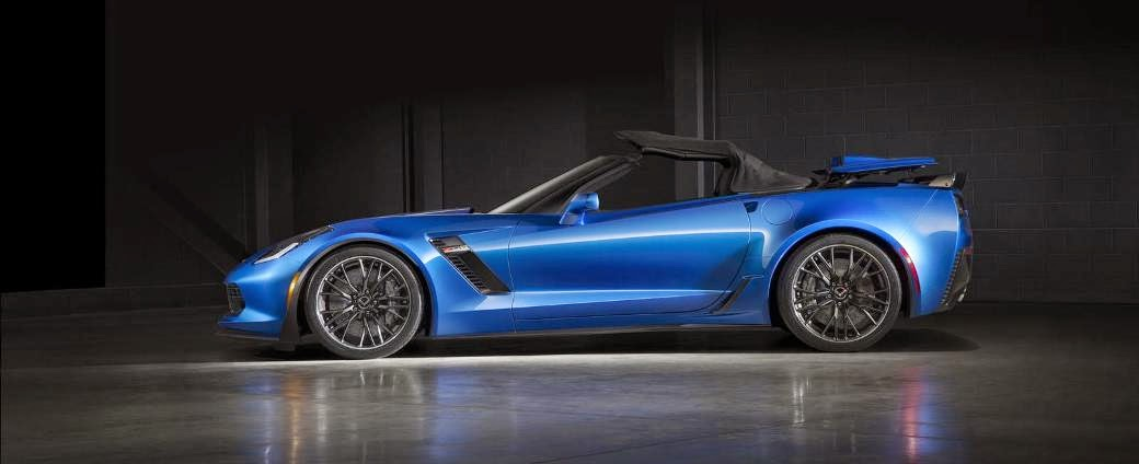 2015 New Chevrolet Corvette Z06 Convertible