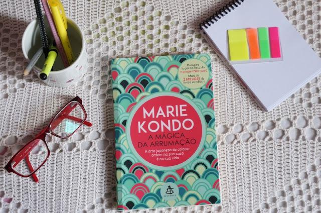 """Livro """"A mágica da Arrumação"""" de Marie Kondo"""