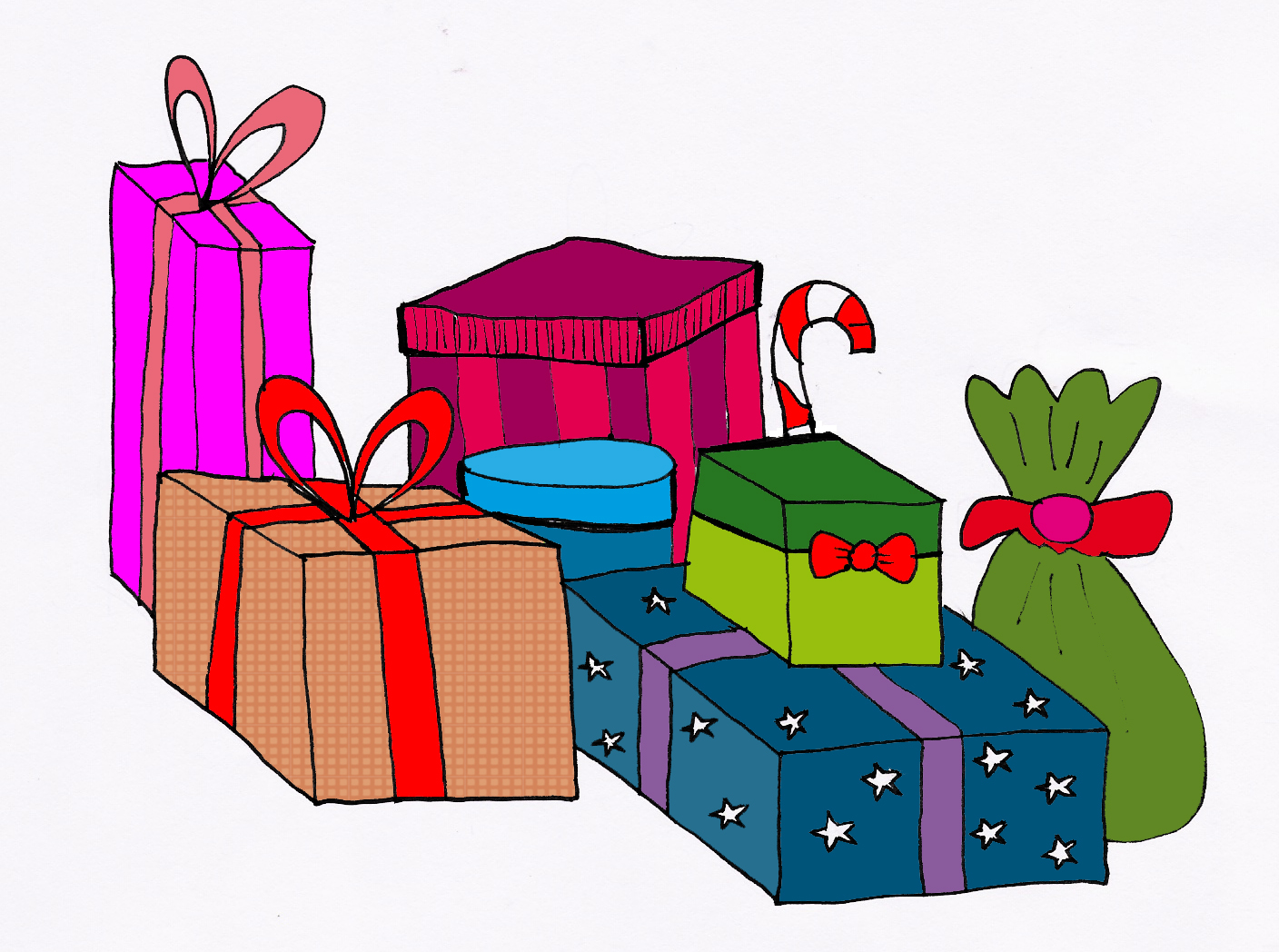 free clipart pictures of christmas presents - photo #50