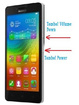 Cara Screenshot Di HP Android Lenovo A6000