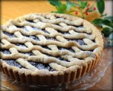 Cranberry Linzer Tart (above)