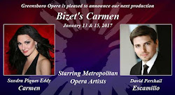 ARTS IN ACTION: Greensboro Opera to welcome 2017 with new production of Bizet&#39;s <i>Carmen</i>
