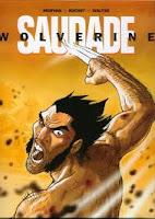 Capa de Wolverine - Saudade