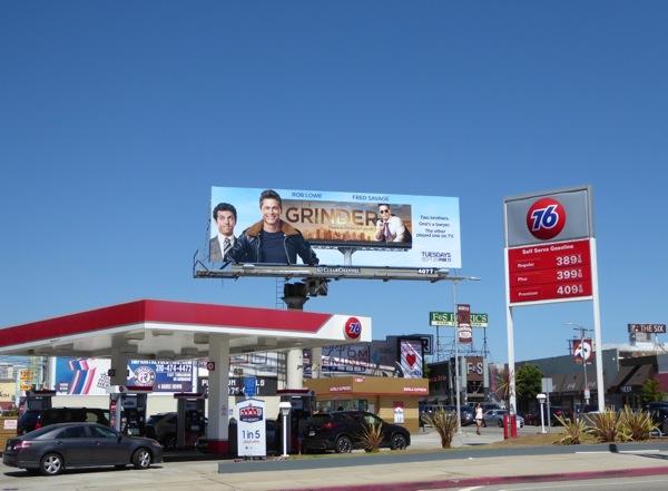 The Grinder season 1 billboard