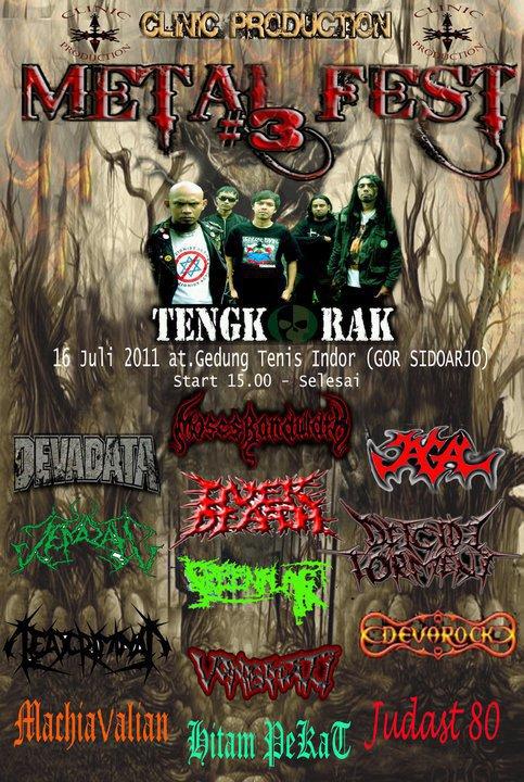 Sidoarjo Metal Fest 3 Clinic Production