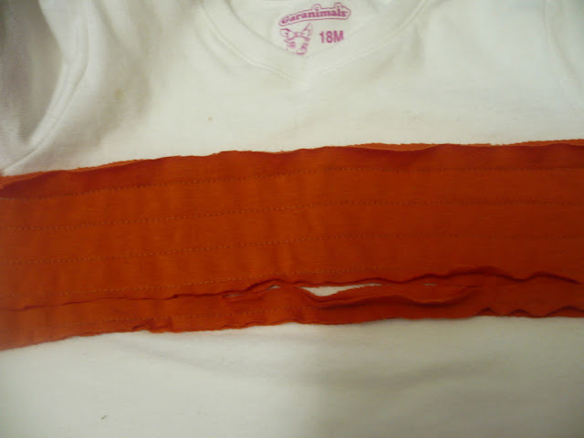 how to sew stripes on a tshirt