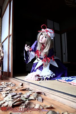 CosRain.Com Sakuya's COSPLAY - The Touhou Project