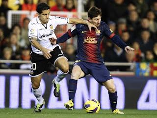 kesuksesan Barcelona atas Valencia 3-2