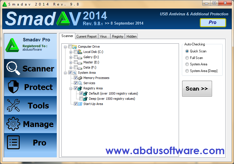 Download SmadAV Pro Terbaru 2014 Rev. 9.8 Full Version