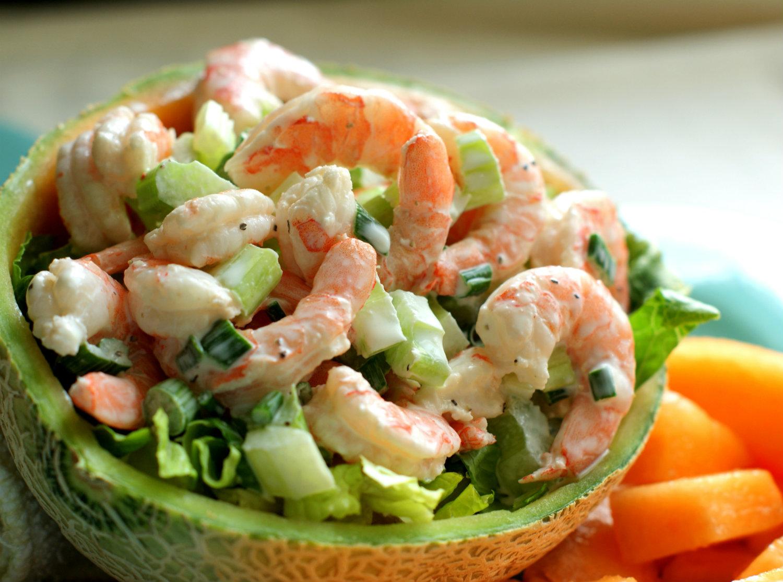 Салат с креветками лучшие рецепты с