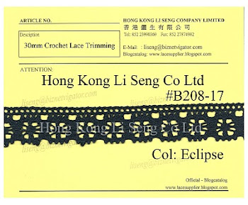 Crochet Lace Trimming Supplier - Hong Kong Li Seng Co Ltd