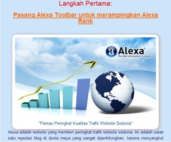 Tampilan image pada homepage