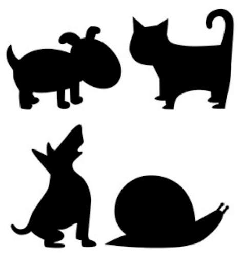 Silueta animales imprimir - Imagui