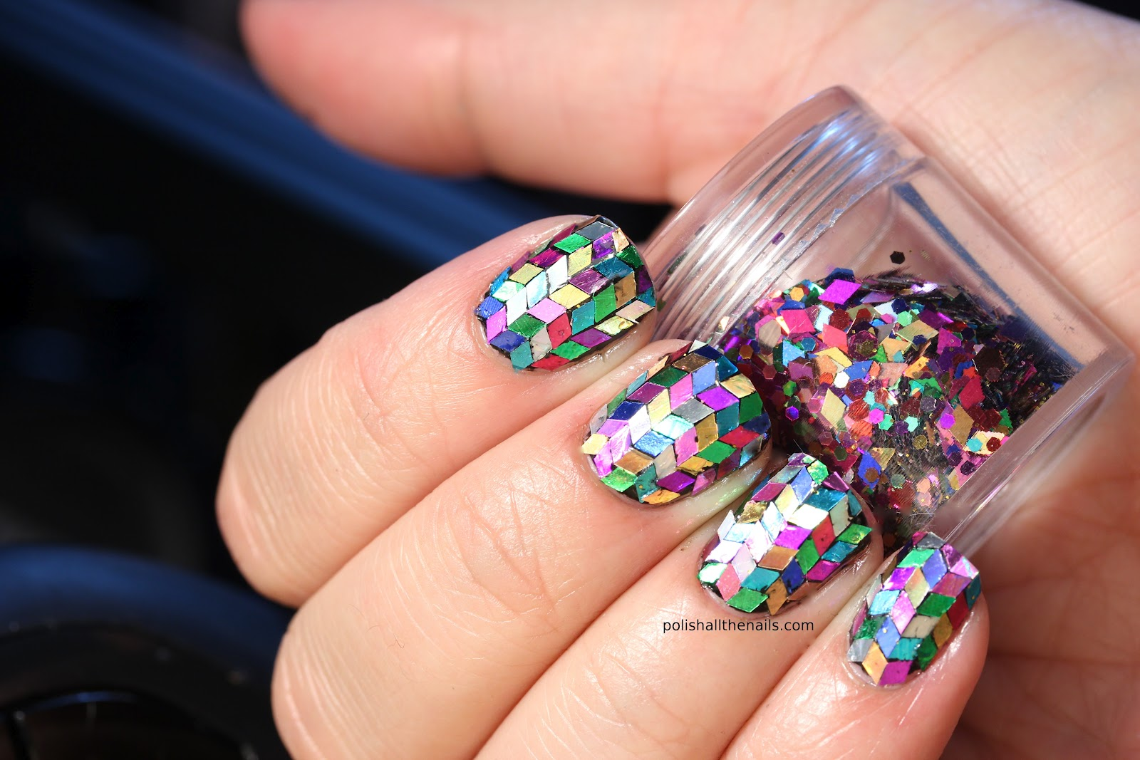 The Captivating Awesome nail polish with diamond Pics