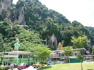 Cuevas de Batu cerca de Kuala Lumpur