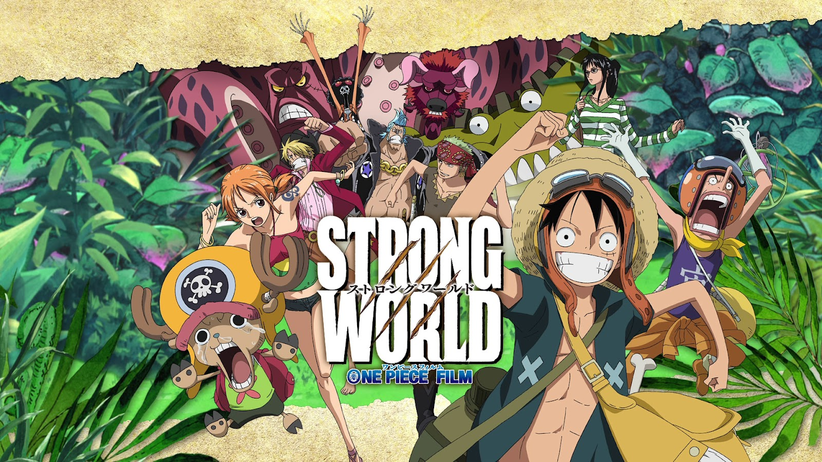 One Piece HD & Widescreen Wallpaper 0.742610664569531