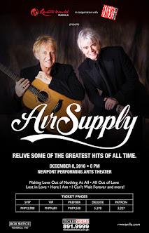 Air Supply Live in Manila