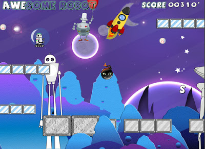awesome robot,free game,free ios game