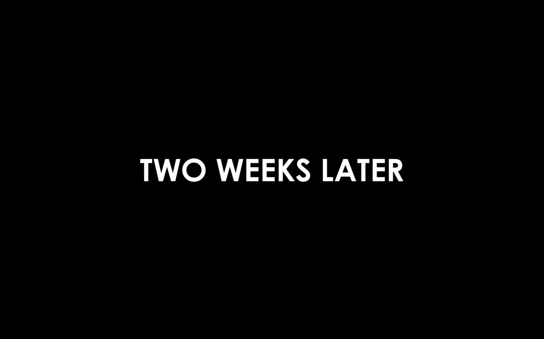 Dua Minggu Kemudian..