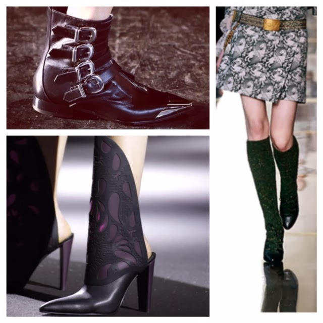 Fashion Week: Boots and Silver Lame
