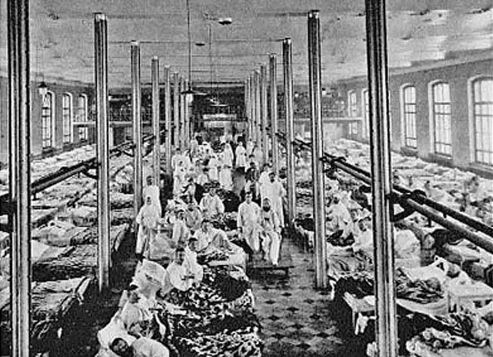 Городской распределительный госпиталь в 1-м казенном винном складе