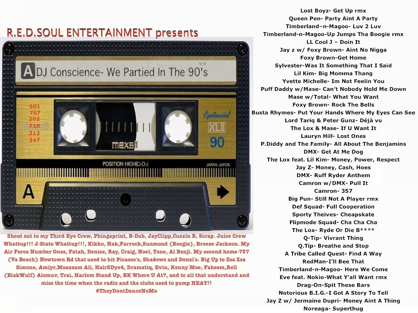 We Partied In The 90's by DJ Conscience