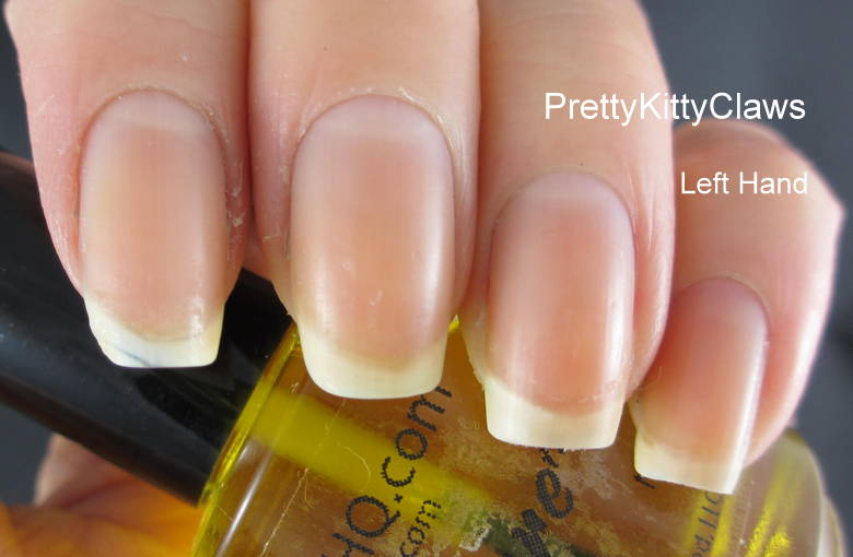 PrettyKittyClaws: Pure Nail and Cuticle Oil - 3 Day Challenge Results