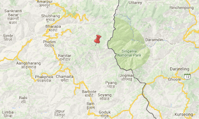 panchthar_earthquake_map
