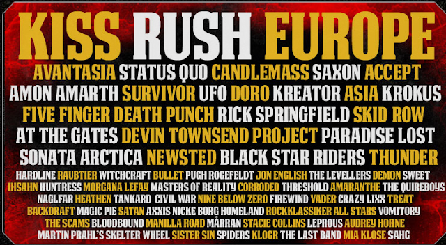 Kiss Rush Europe