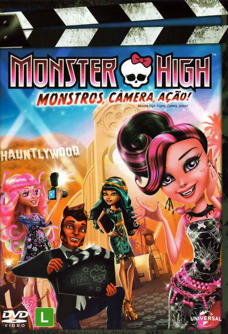 Monster High: Monstros, Câmera, Ação! Torrent - Blu-ray Rip 1080p Dublado (2014)