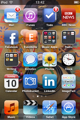 iPod Touch, apps, working from home