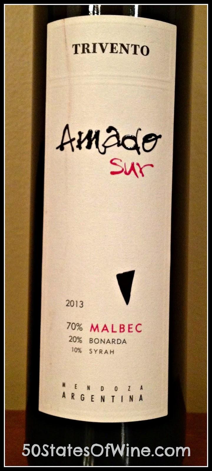 Amado Sur Malbec Blend 2013