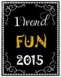 My 2015 Word