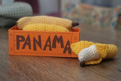 Häkelbananen, Bananenkiste, Panama