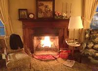 Cozy Living Room Fire