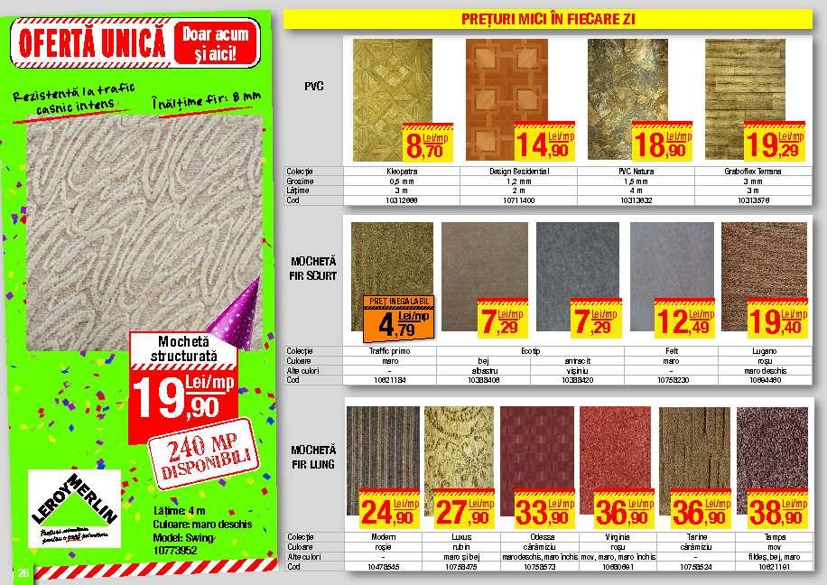 Catalog oferte si promotii catalog leroy merlin bucuresti for Catalogue leroy merlin jardin 2013