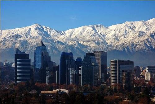 skyline di Santiago
