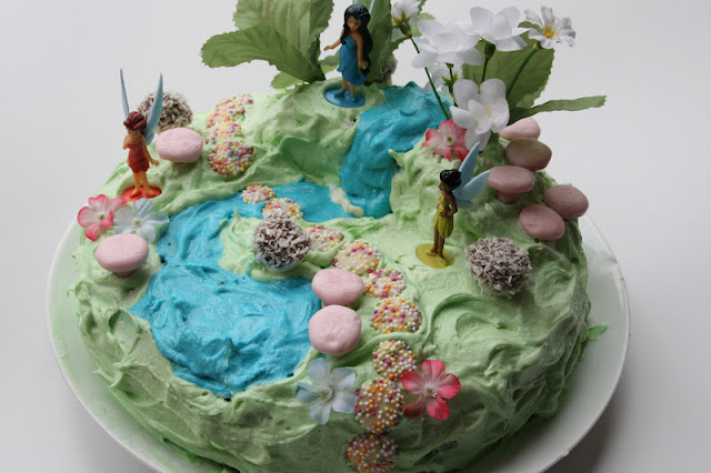 Create with your hands Fairy Garden Birthday Cake