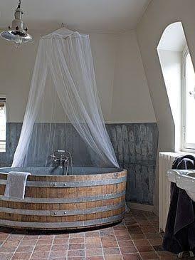 bañera de cuento