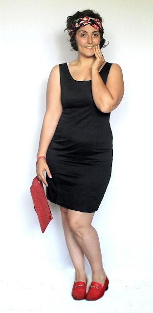 Add a twist to your little black dress with a handmade turban headband