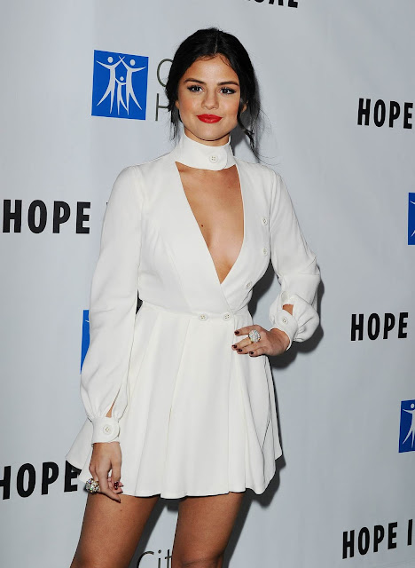 Actress, Singer @ Selena Gomez arrives at 2015 Spirit Of Life Gala