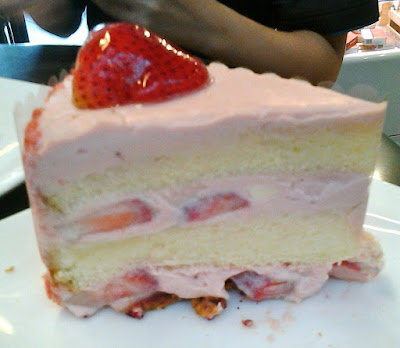 Strawberry Shortcake at Dean & Deluca Orchard Central