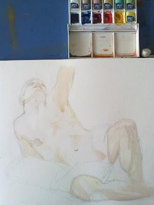 clases de pintura del cuerpo humano