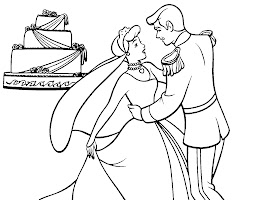 Disney Wedding Coloring Pages Printable