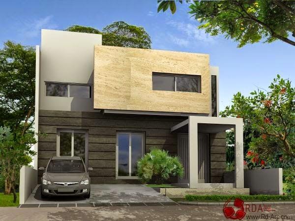 model rumah minimalis Modern 2014 2