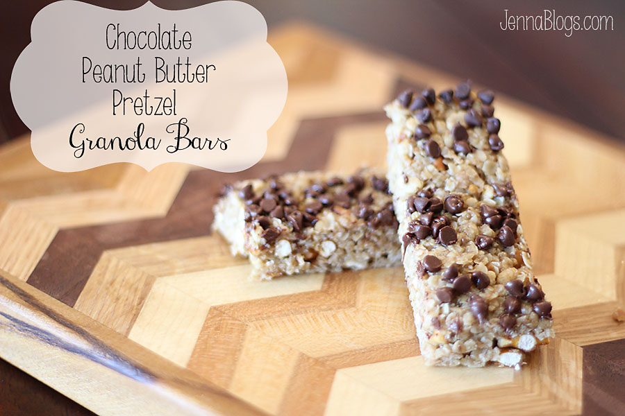 ... granola bars I've ever had: No bake peanut butter granola bars