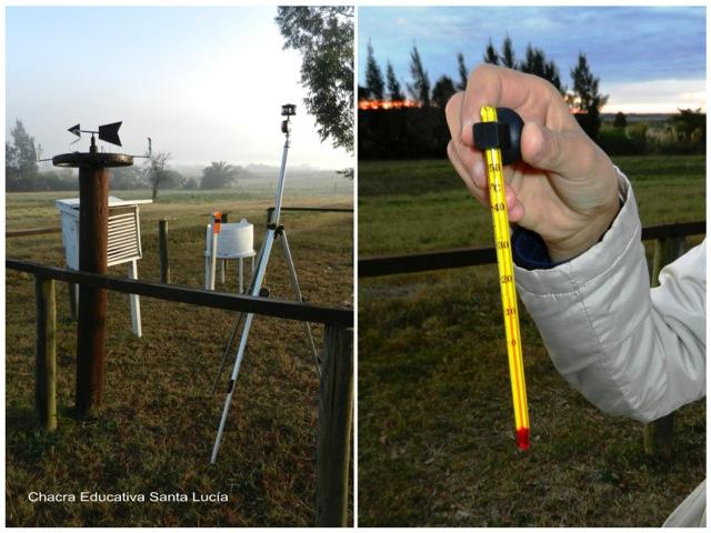 Termómetro para la temperatura - Chacra Educativa Santa Lucía